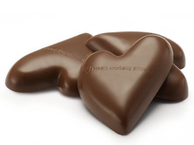 Milk Chocolate Hearts